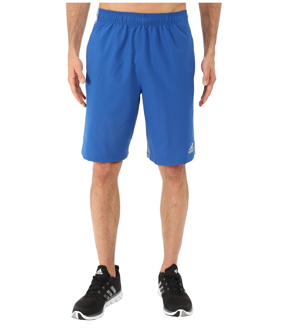 adidas - Climacore Woven Shorts (EQT Blue/EQT Blue) Men's Shorts