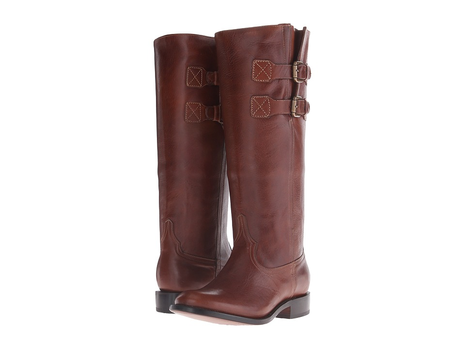 Lucchese - Paige (Rust) Cowboy Boots