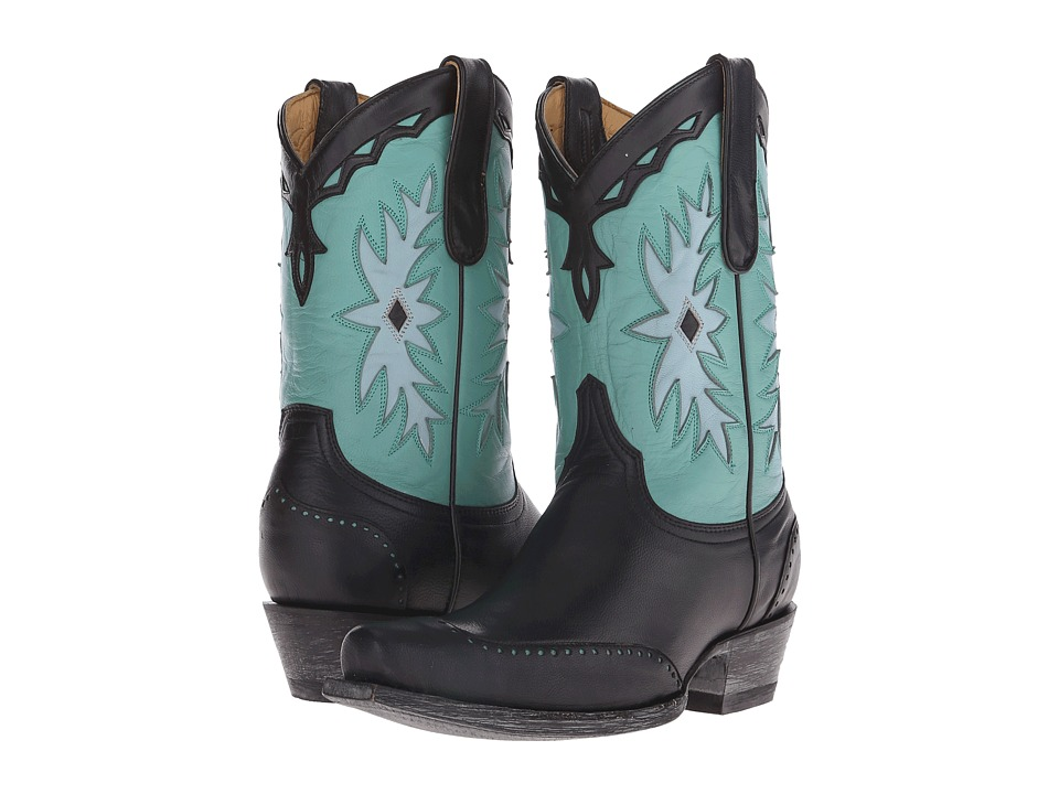 Old Gringo - Miesha (Black/Turquoise) Cowboy Boots