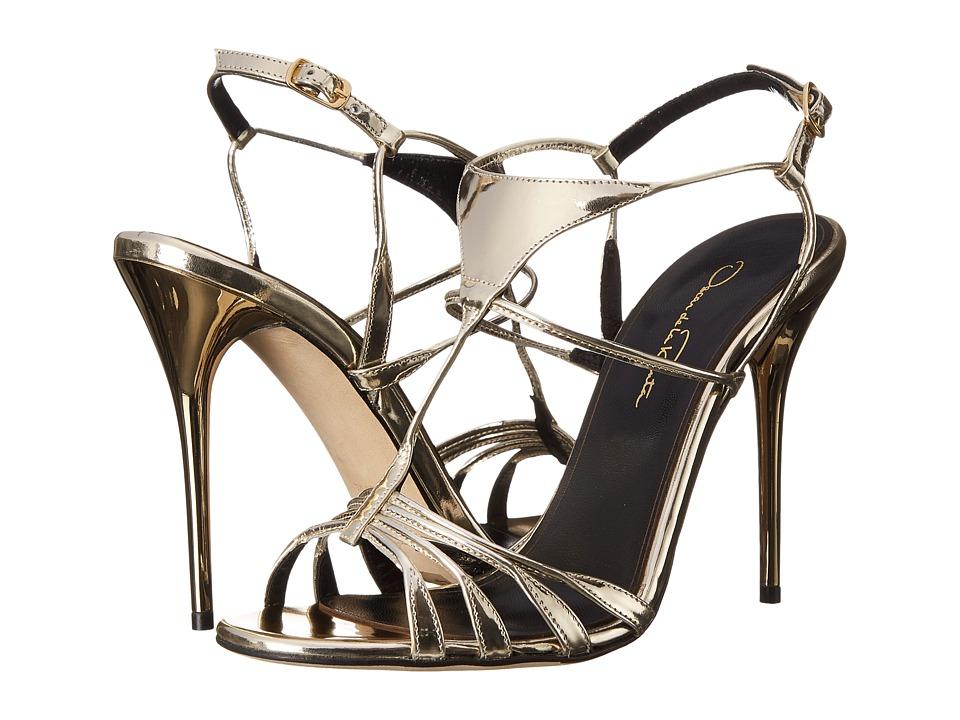 Oscar de la Renta - Noelia 100mm (Platinum Specchio) High Heels
