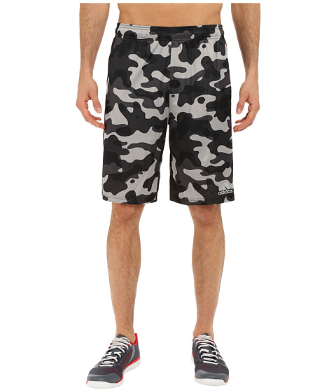 adidas - Climacore Camo Shorts (Light Solid Grey/Black) Men's Shorts