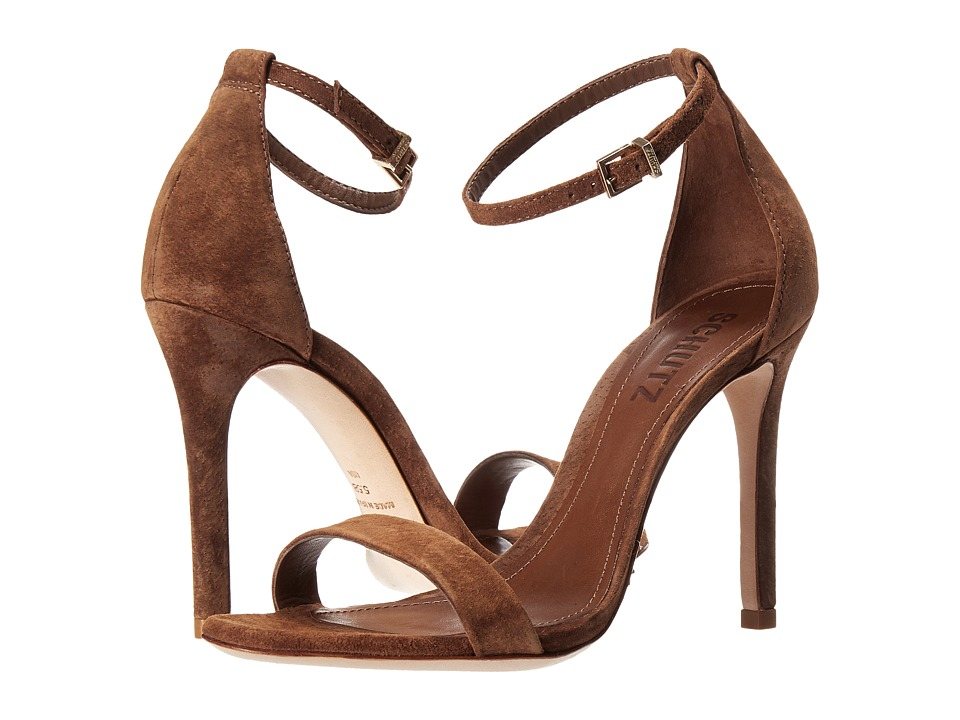 Schutz Cadey-Lee (Wood) High Heels