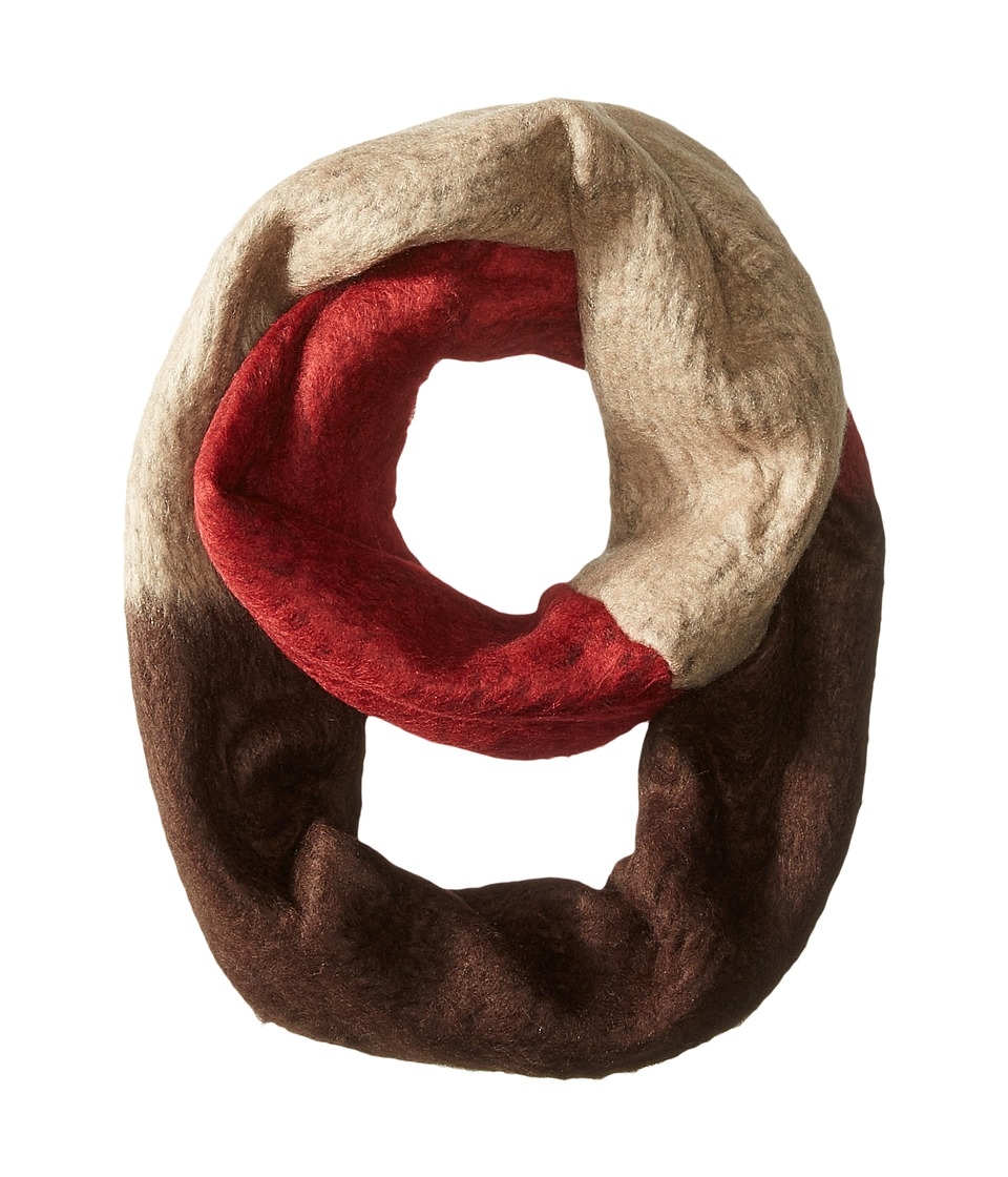 Steve Madden - Brush Hour Infinity (Brown) Scarves