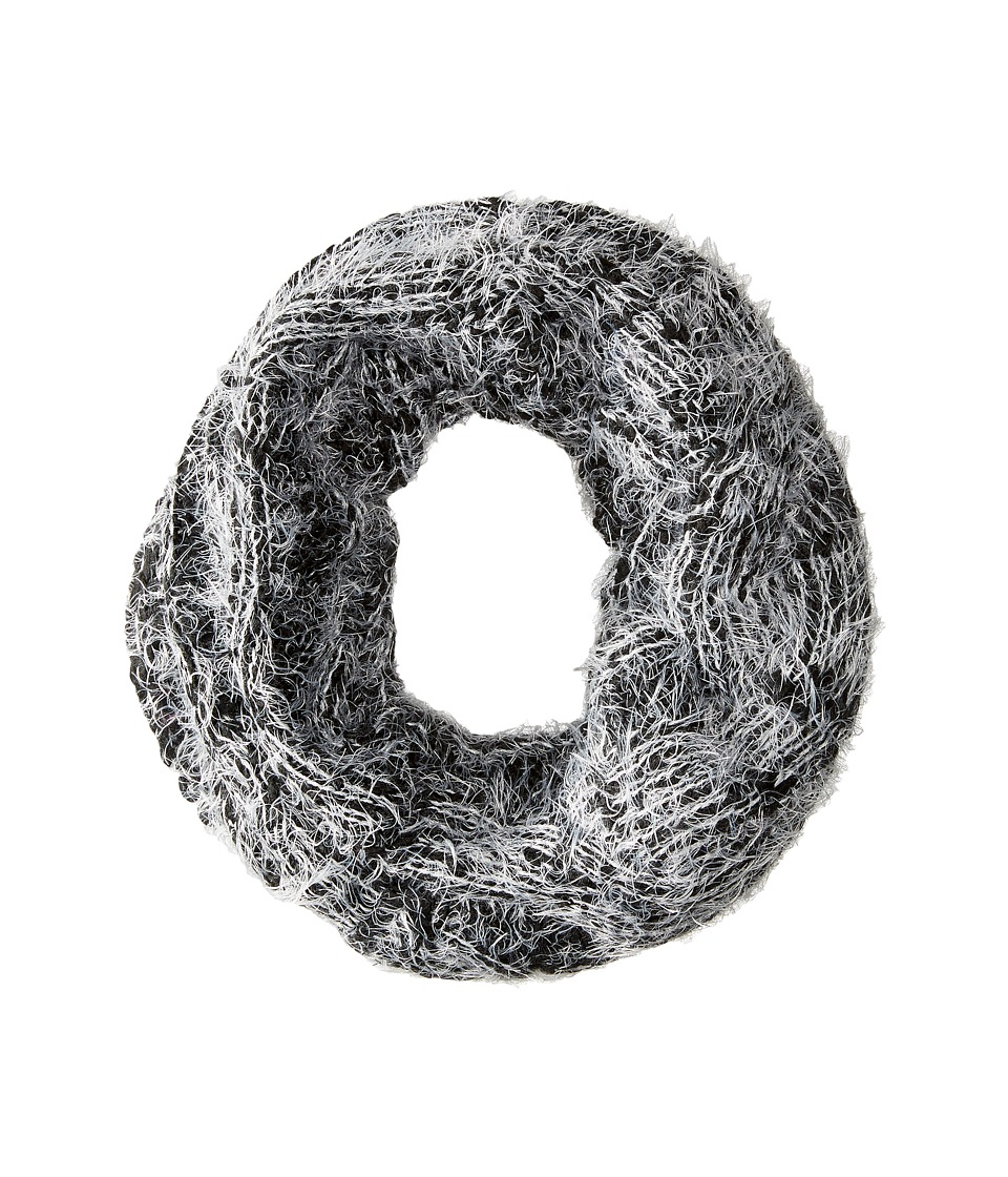 Steve Madden - Cozy Cables Infinity (Black) Scarves