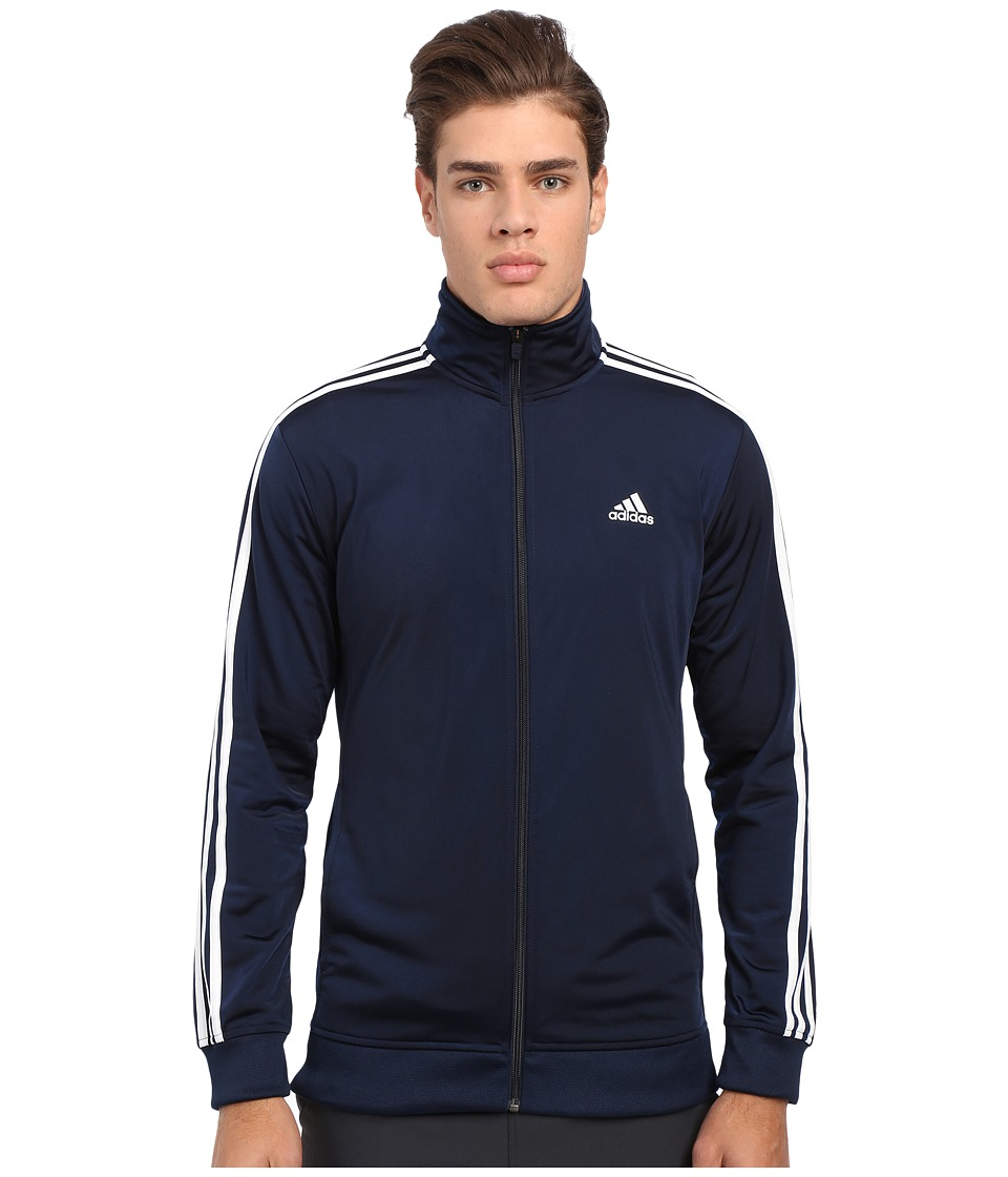 adidas - Essential Tricot Track Jacket (Collegiate Navy/White) Men