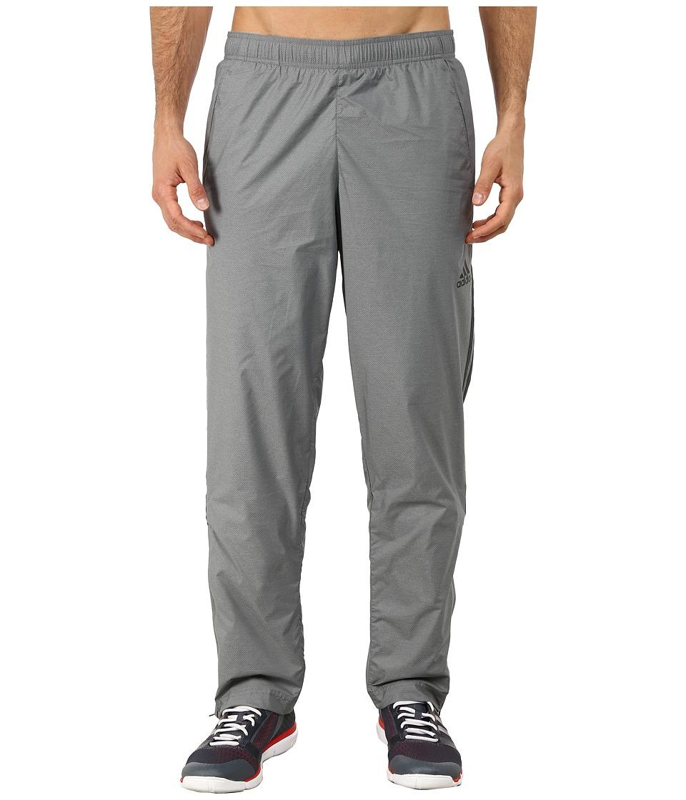 adidas - Essential 3S Woven Pants (Vista Grey/Black) Men's Casual Pants