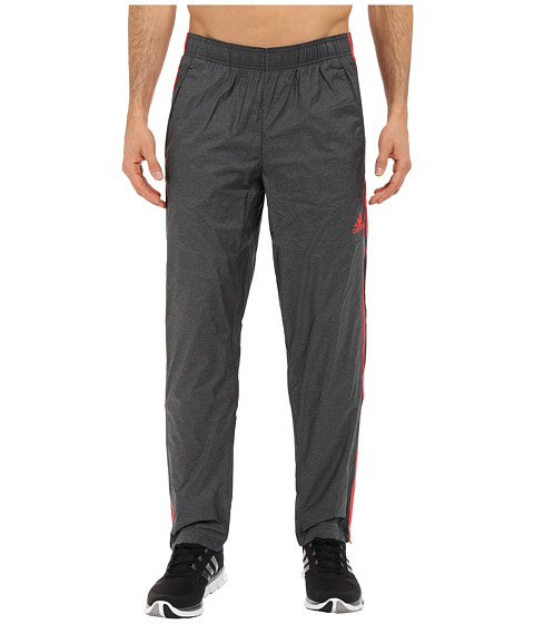adidas - Essential 3S Woven Pants (Black/Scarlet) Men