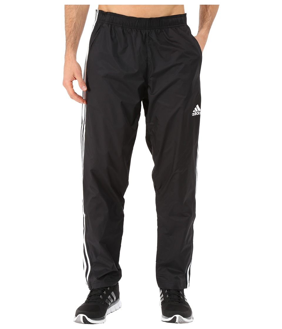 adidas - Essential 3S Woven Pants (Black/Black/White) Men's Casual Pants