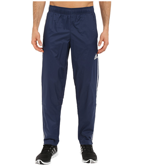 adidas - Essential 3S Woven Pants (Collegiate Navy/Collegiate Navy/White) Men