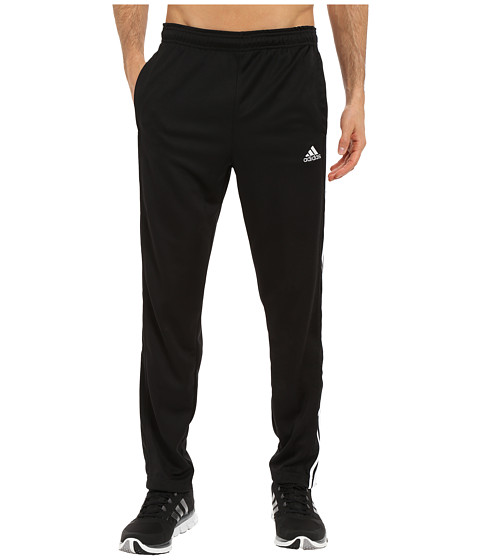 adidas - Essential 3S Tapered Pants (Black/White) Men's Casual Pants