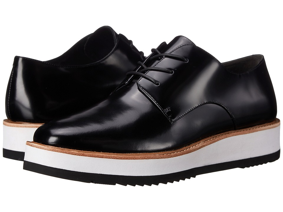 Vince - Reed (Black Abbrasivato) Women's Lace up casual Shoes