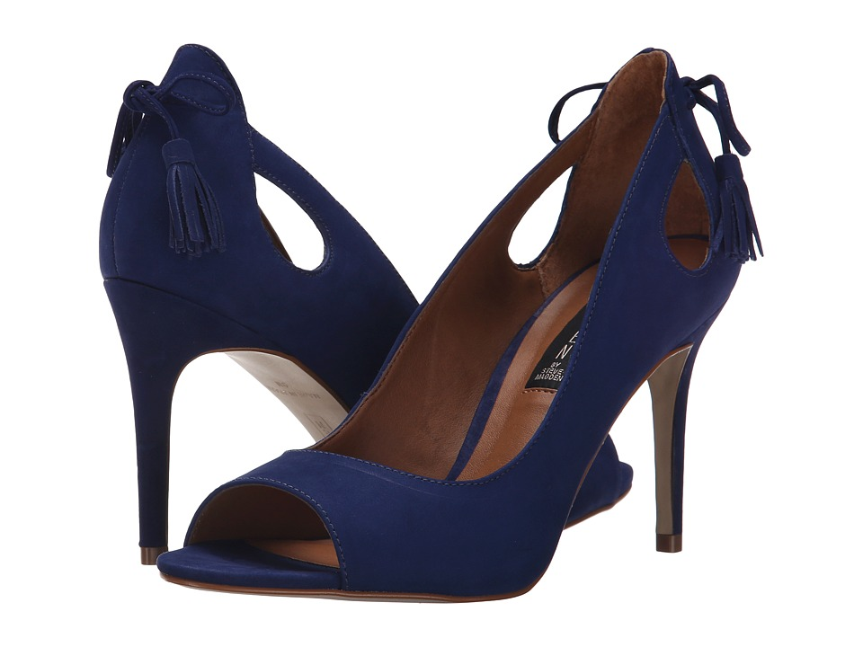Steven - Tracee (Blue Nubuck) High Heels