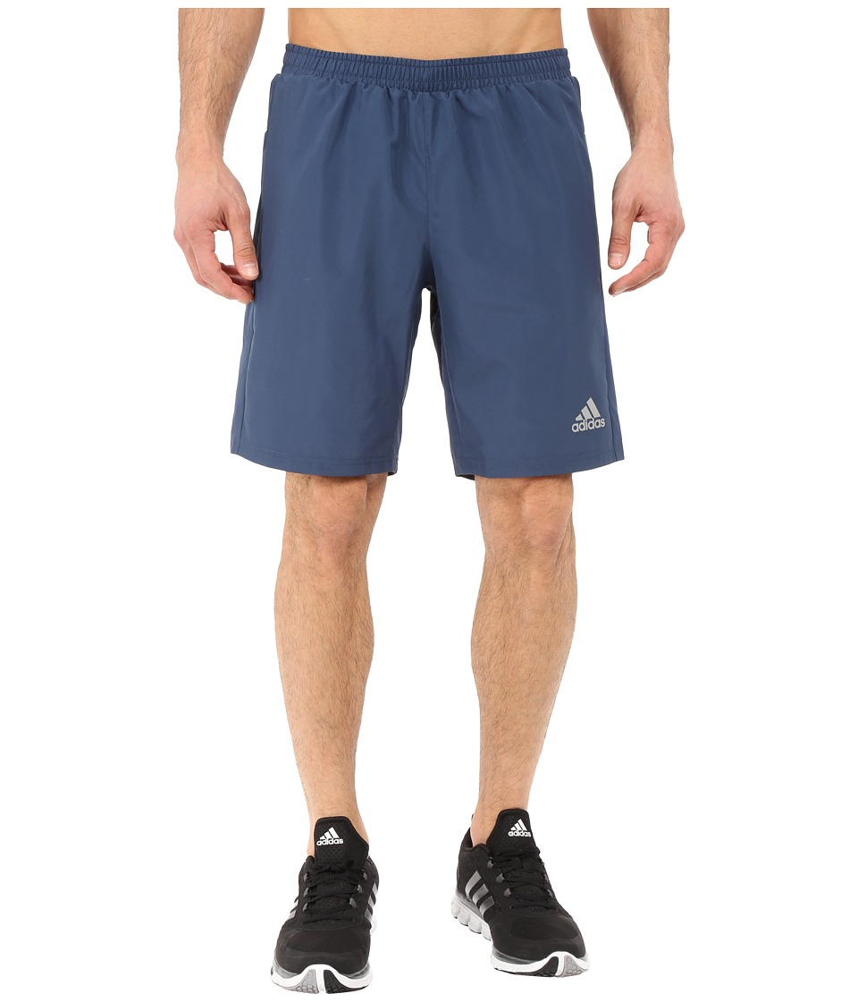 adidas - Run Shorts (Mineral Blue) Men's Shorts