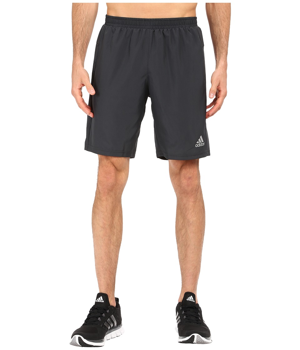 adidas - Run Shorts (Dark Grey) Men's Shorts