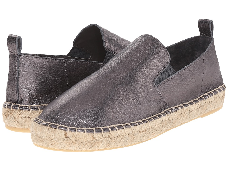 Vince - Robin (Gunmetal Metallic Nappa) Women's Slip on Shoes