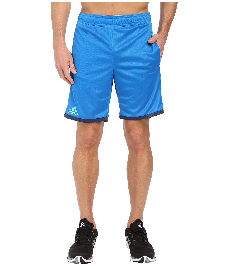 adidas - Court Shorts (Shock Blue/Blue Glow) Men's Shorts