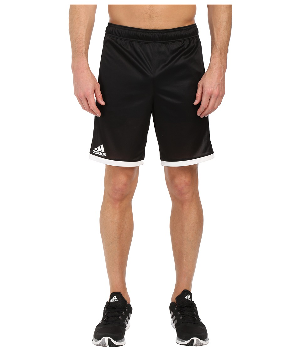 adidas - Court Shorts (Black/White) Men's Shorts