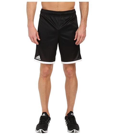 adidas - Court Shorts (Black/White) Men's Shorts