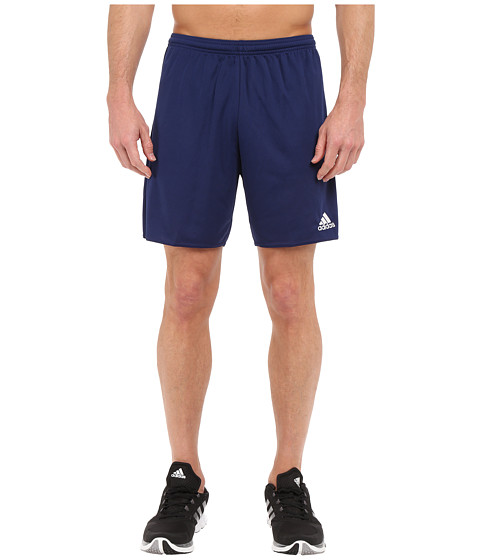 adidas - Parma 16 Shorts (Dark Blue/White) Men