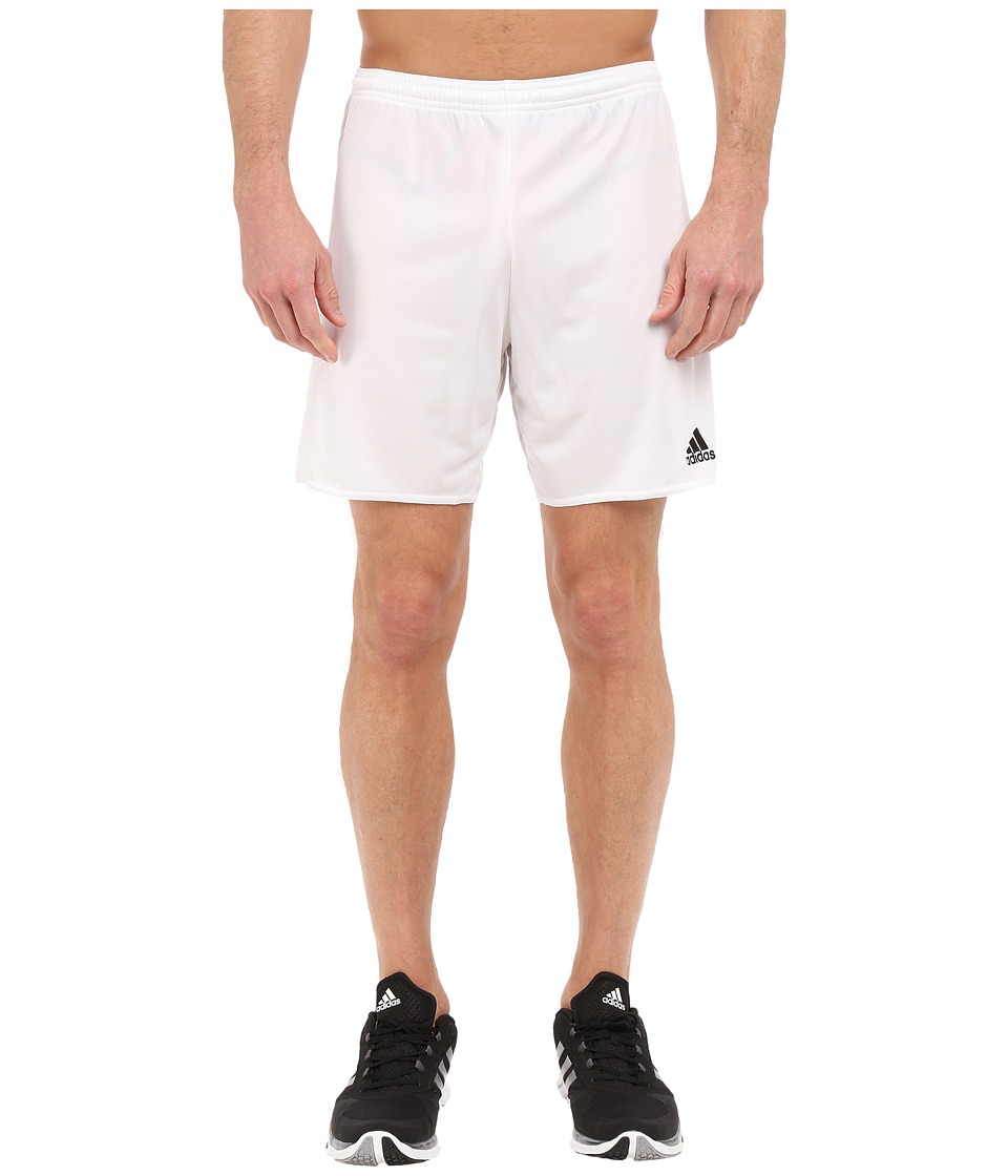 adidas - Parma 16 Shorts (White/Black) Men's Shorts