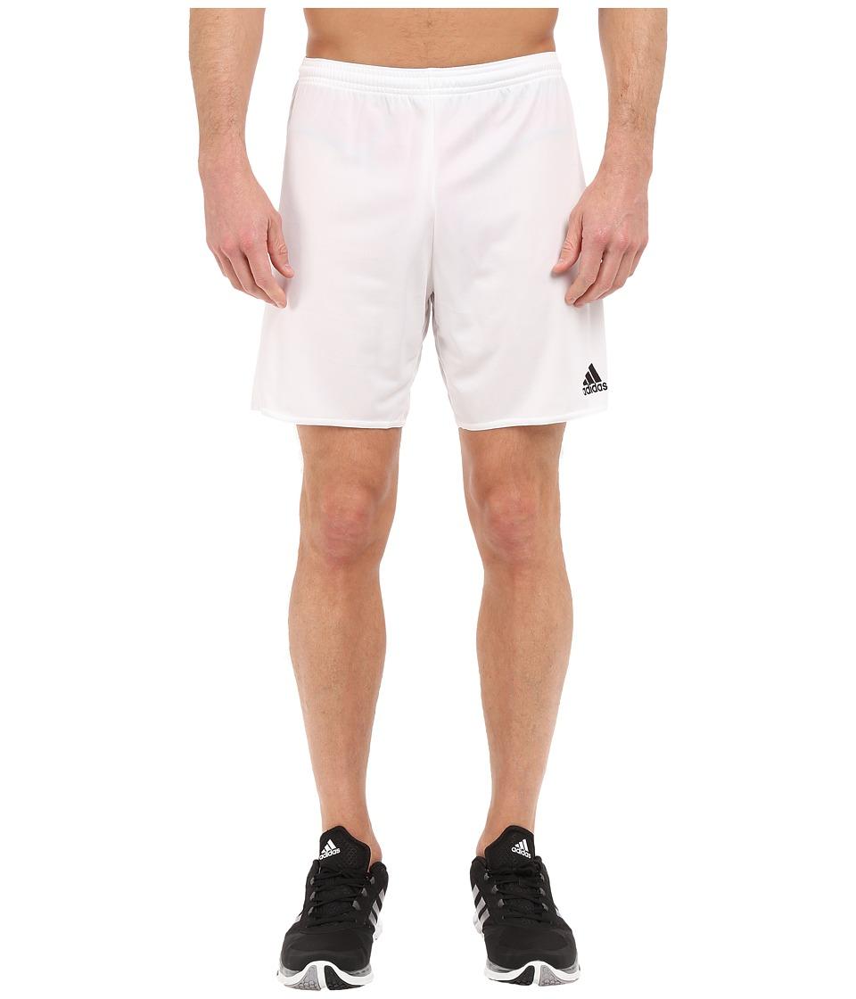 adidas - Parma 16 Shorts (White/Black) Men's Shorts