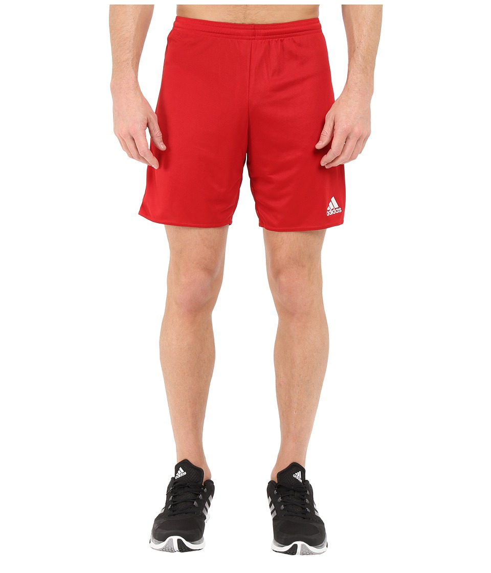 adidas - Parma 16 Shorts (Power Red/White) Men's Shorts