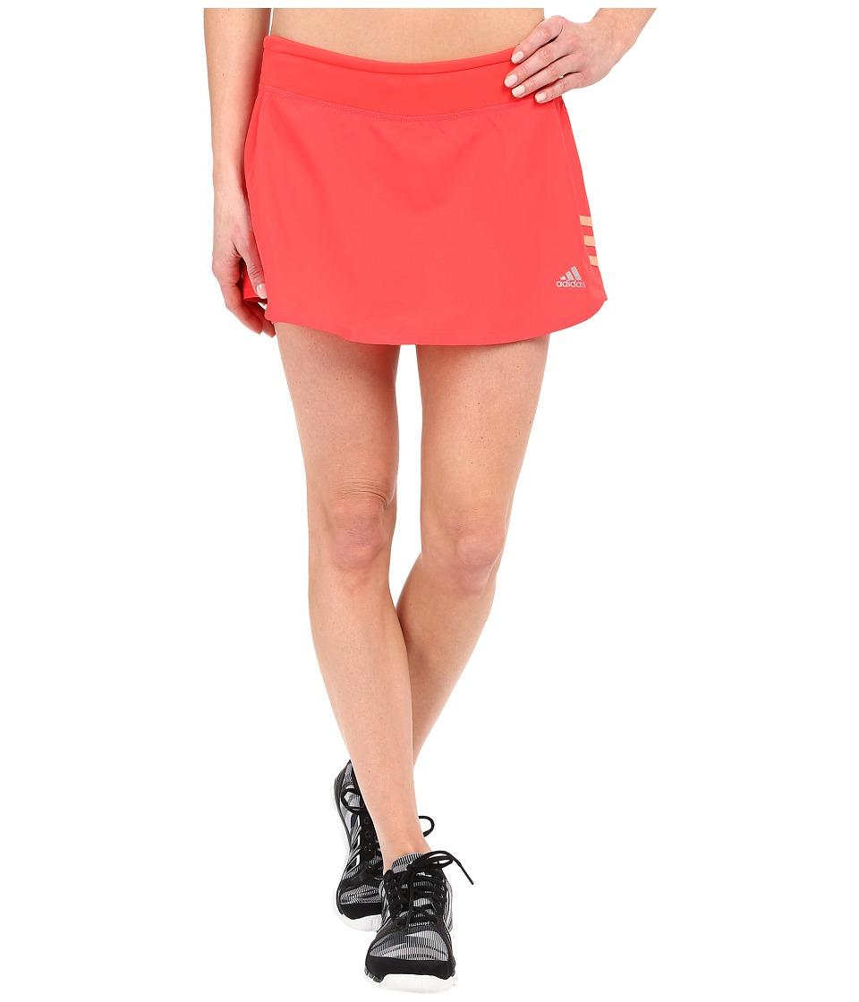adidas - Response Skort (Shock Red/Sun Glow) Women's Skort