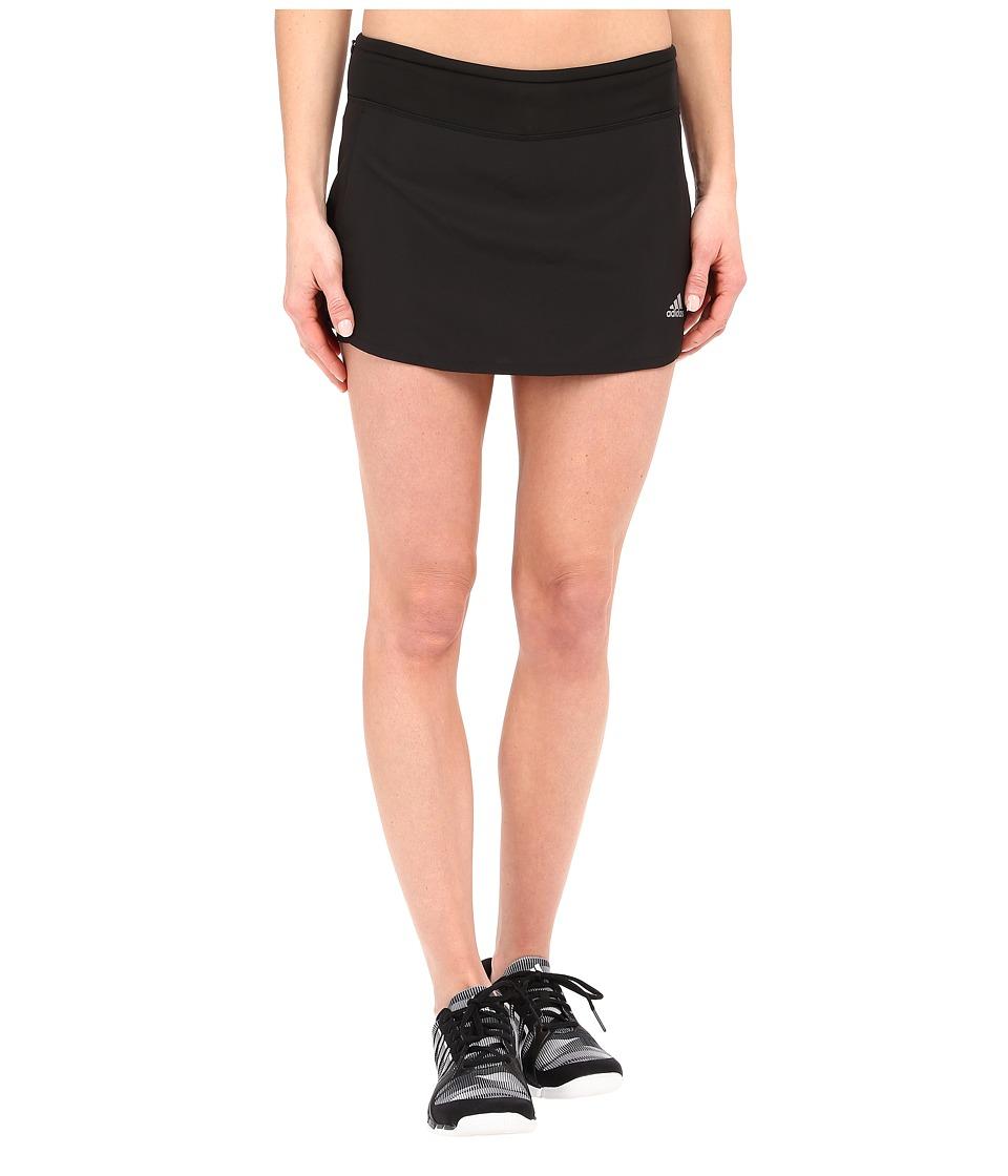 adidas - Response Skort (Black/White) Women's Skort