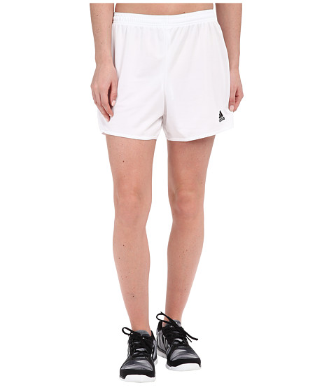 adidas - Parma 16 Shorts (White/Black) Women's Shorts