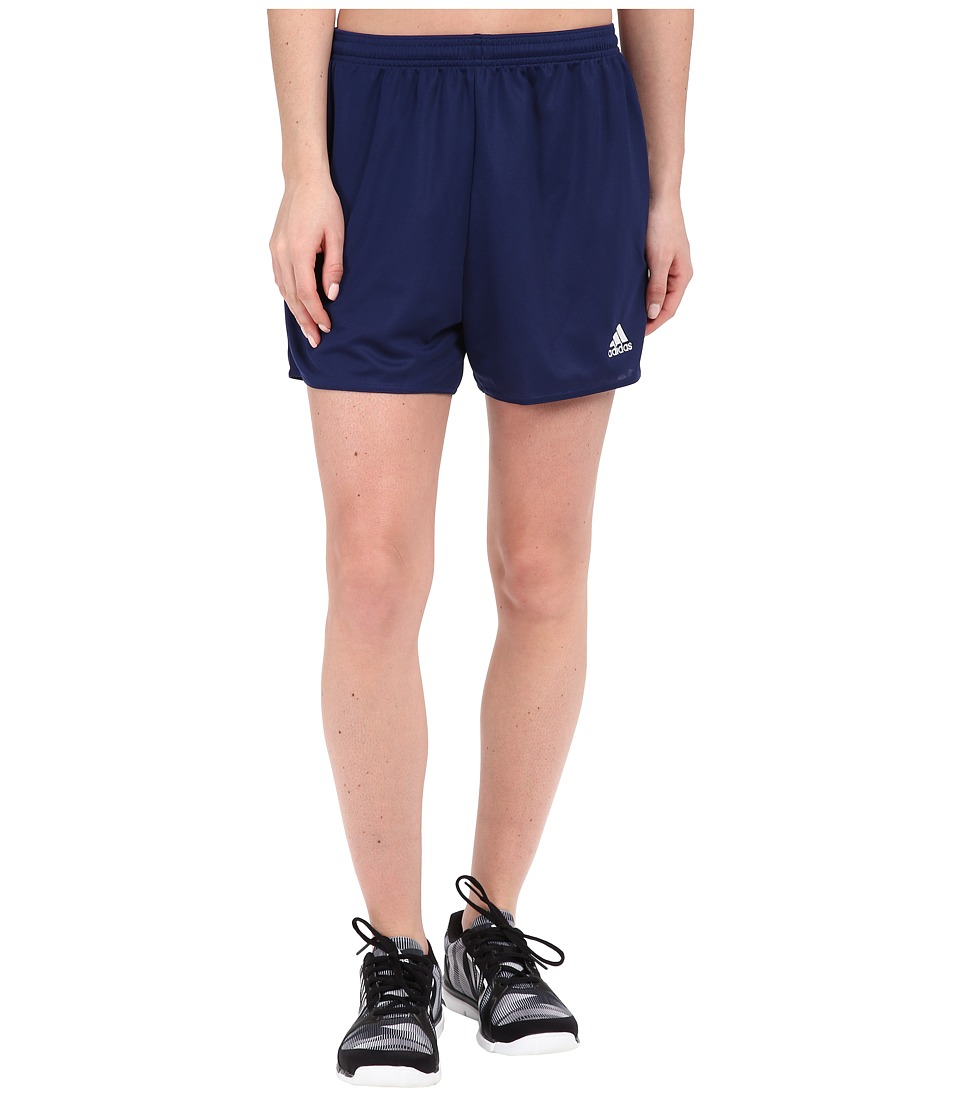 adidas - Parma 16 Shorts (Dark Blue/White) Women's Shorts
