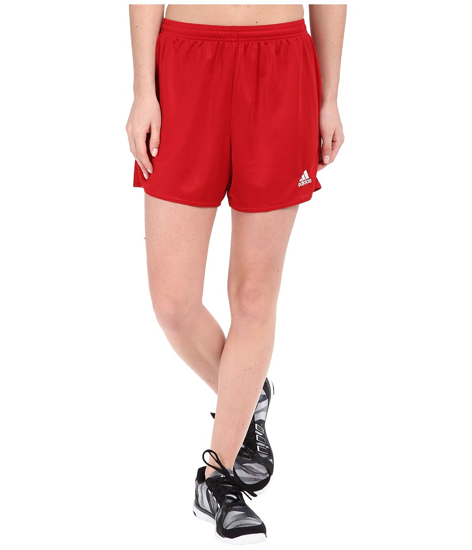 adidas - Parma 16 Shorts (Power Red/White) Women