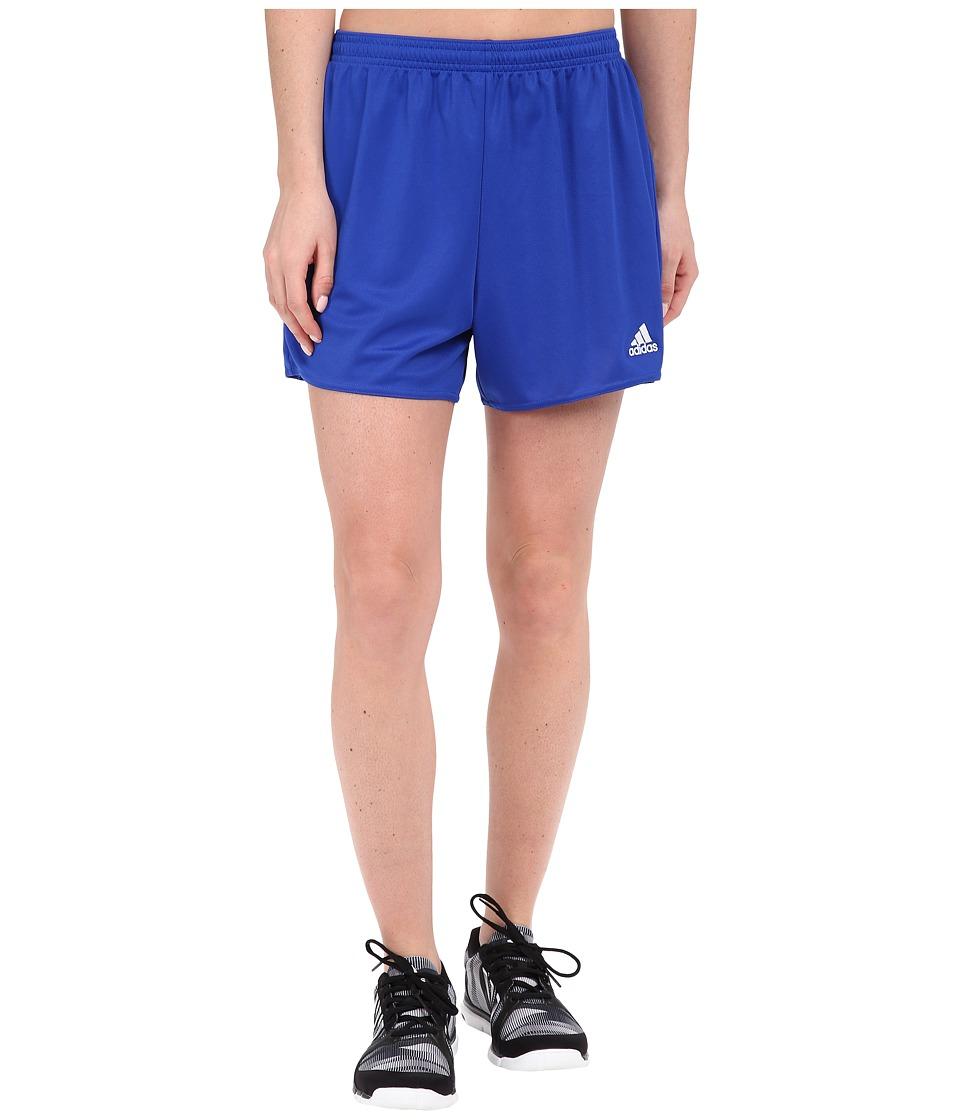 adidas - Parma 16 Shorts (Bold Blue/White) Women's Shorts