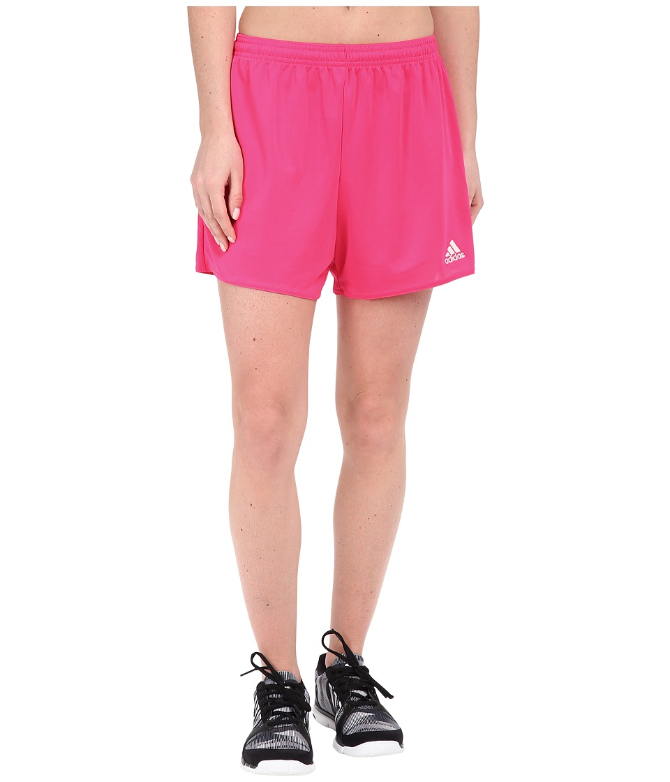 adidas - Parma 16 Shorts (Shock Pink/White) Women's Shorts