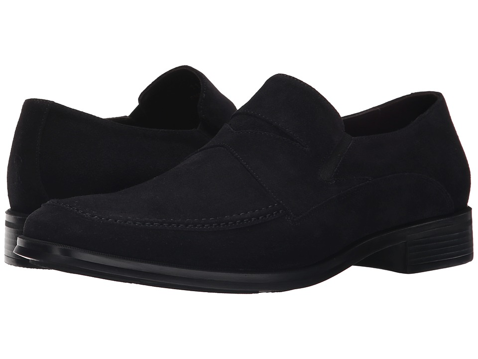 Bruno Magli - Primo (Navy Suede) Men's Slip on Shoes