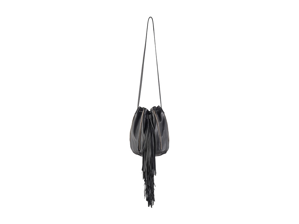 Barbara Bonner - Andrea Fringe Piping Gold (Caviar) Handbags