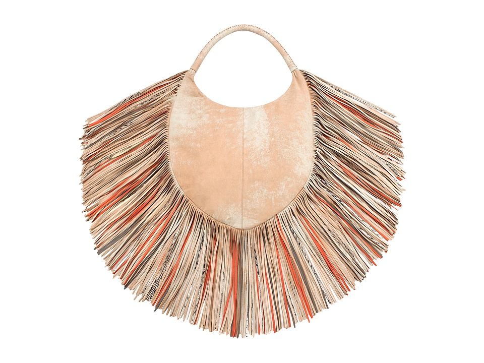 Barbara Bonner - Lilith Medium XXX + Multi (Albino/Coral) Handbags