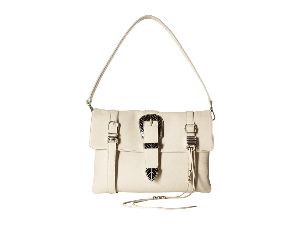 Barbara Bonner - Ellie Clutch + Strap (Cream) Clutch Handbags