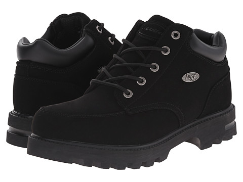 Lugz - Combatant WR (Black) Men's Shoes
