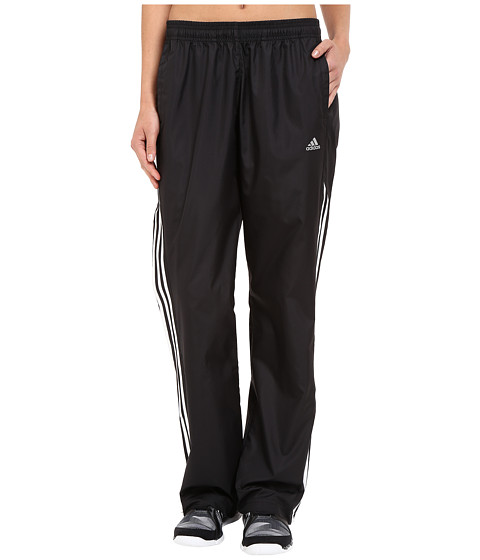 adidas - All Around Woven Pants (Black/White) Women's Casual Pants