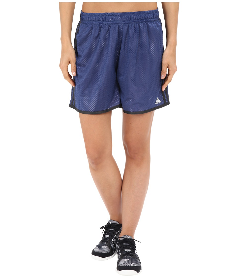 adidas - On Court Mesh Shorts (Raw Purple/Purple Glow/Matte Silver) Women's Shorts