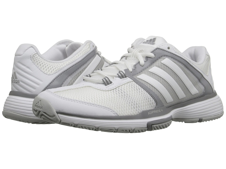 adidas - Barricade Club (White/Clear Onix) Women's Shoes