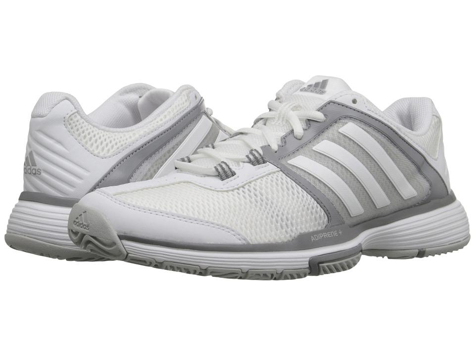 adidas Barricade Club (White/Clear Onix) Women