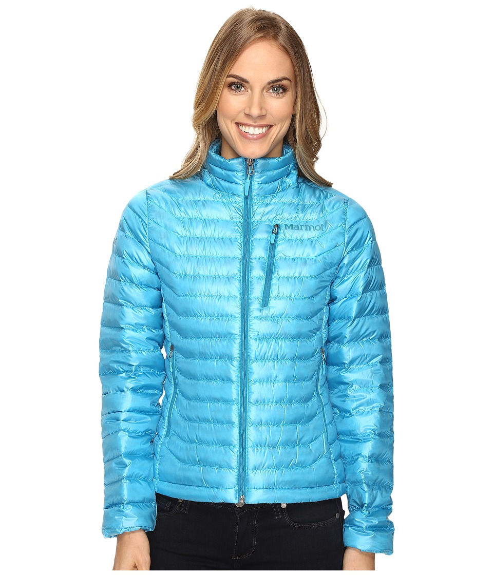 Marmot - Quasar Jacket (Blue Sea) Women's Coat