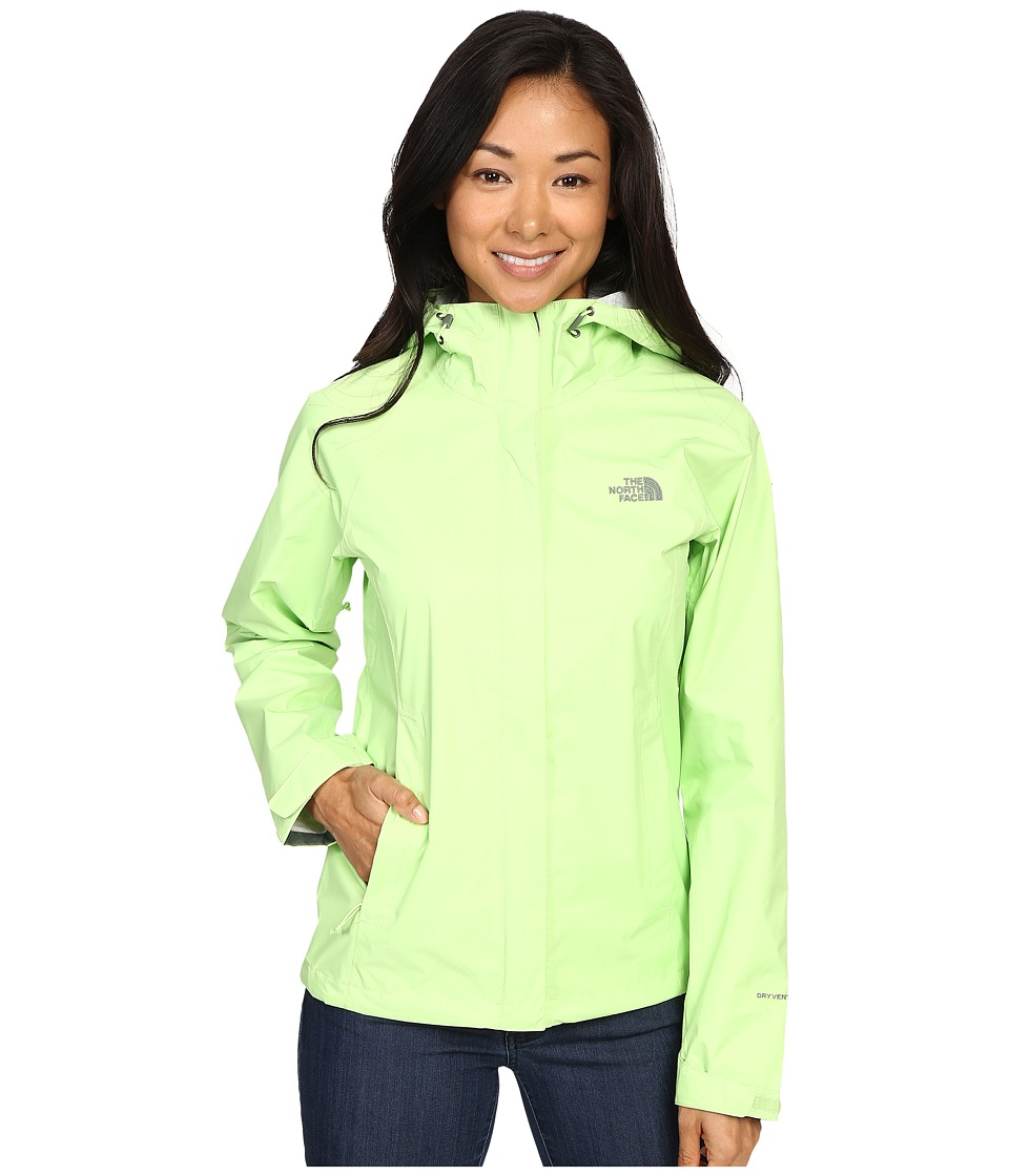 The North Face - Venture Jacket (Budding Green) Women's Coat