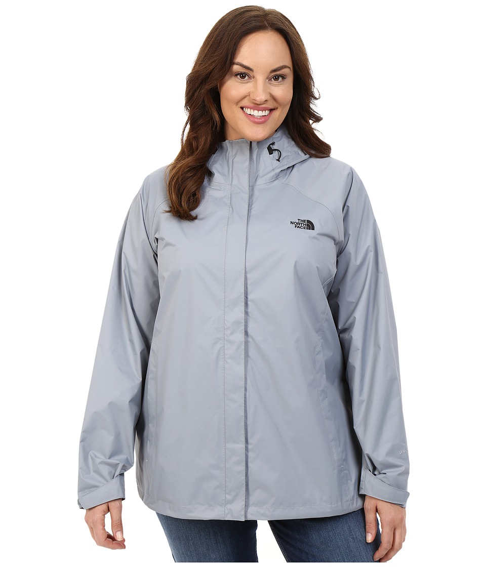 The North Face - Venture Jacket (Mid Grey/TNF Black) Women's Coat