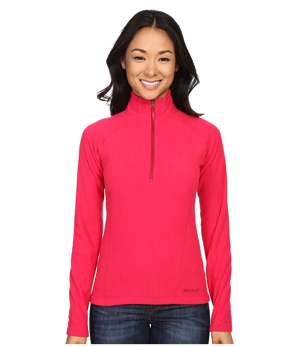 Marmot - Rocklin 1/2 Zip (Raspberry) Women's Clothing