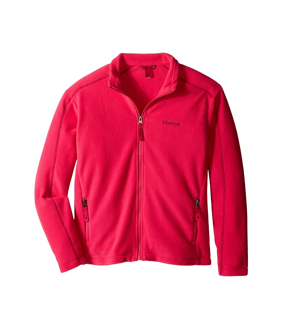 Marmot Kids - Lassen Fleece (Little Kids/Big Kids) (Gypsy Pink) Girl's Fleece