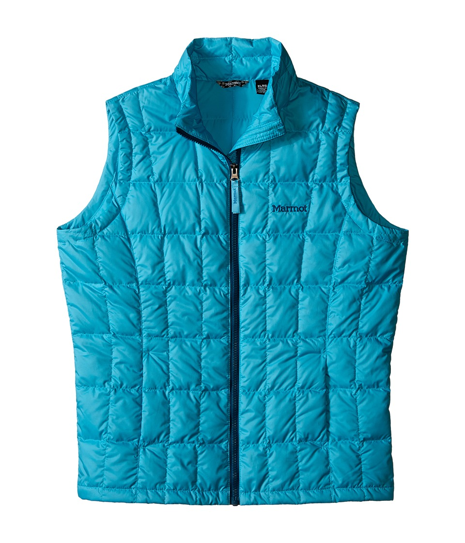 Marmot Kids - Sol Vest (Little Kids/Big Kids) (Light Aqua) Girl's Vest