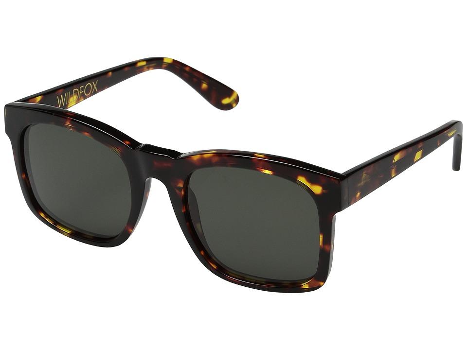 Wildfox - Gaudy (Tokyo Tortoise/G15 Sun) Fashion Sunglasses