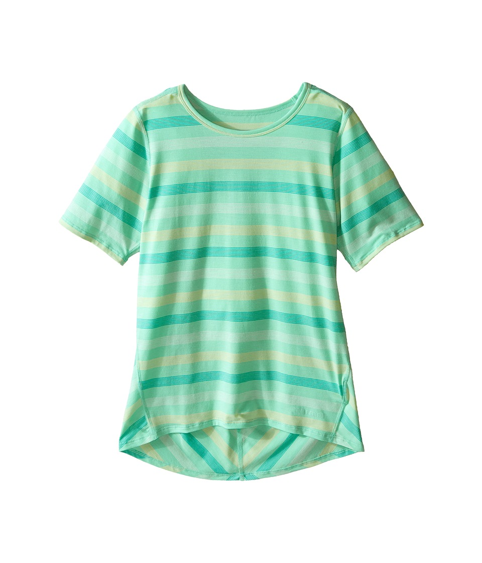 Marmot Kids - Gracie S/S Top (Little Kids/Big Kids) (Green Frost) Girl's Short Sleeve Pullover